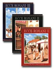 Ecce Romani Language Activity Book 1 Latin Edition
